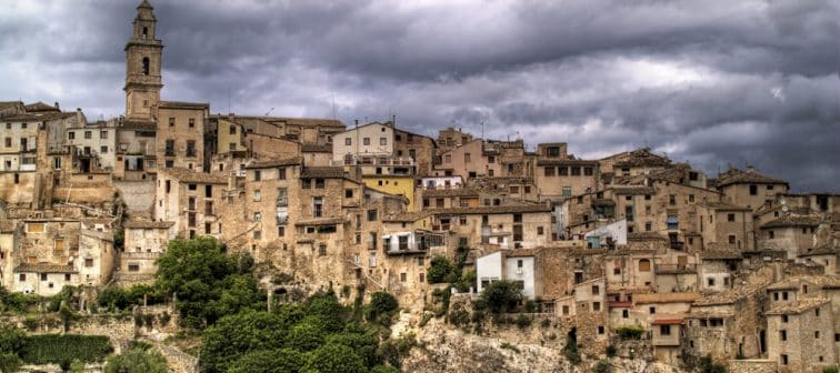 Barrio viejo de Bocairent