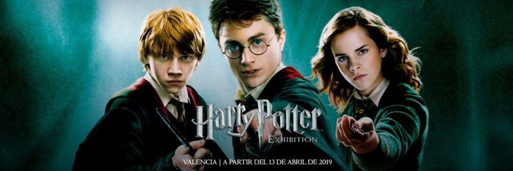 harry potter the exhibition valencia