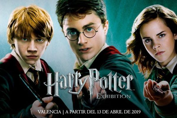 harry potter the exhibition valencia