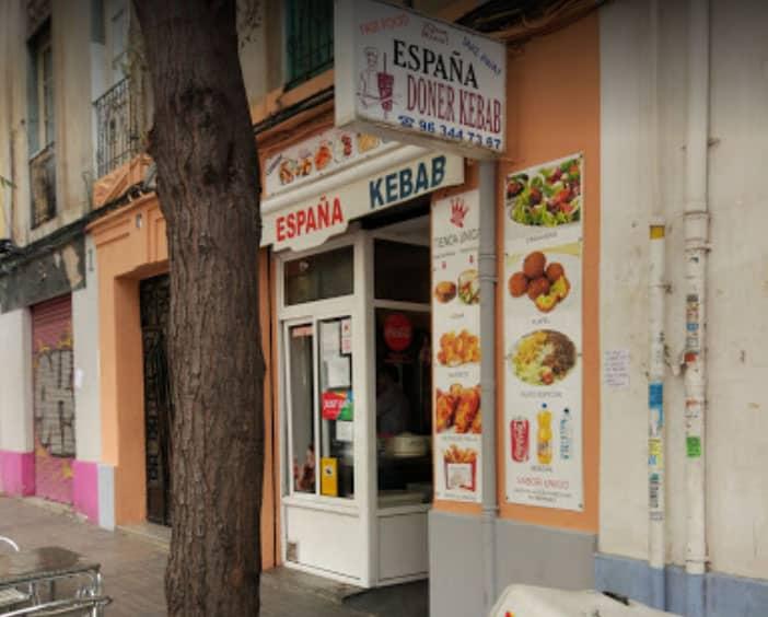 España Kebab en Valencia