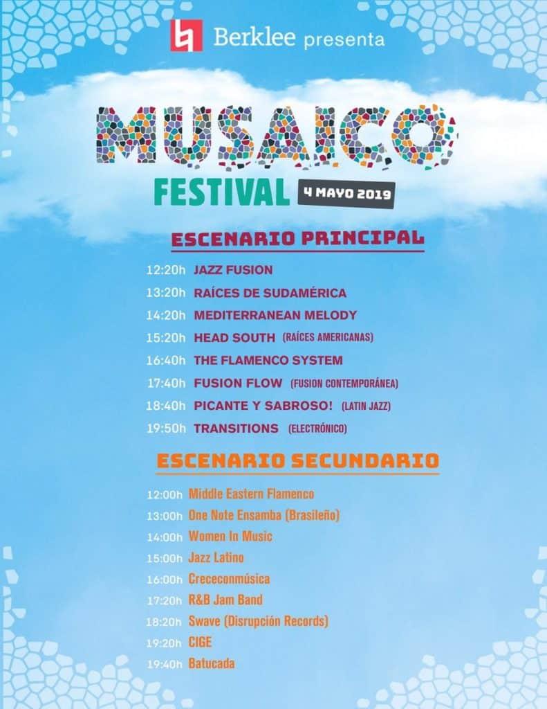 musaico festival programacion