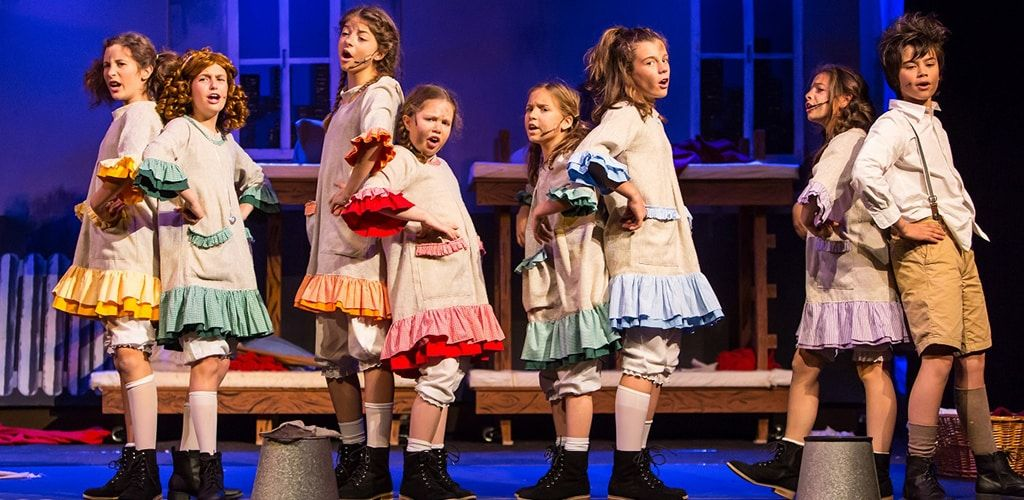Annie el musical en el teatro olympia de Valencia