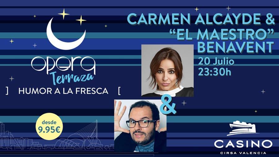 Carmen Alcayde y el Maestro Benavent