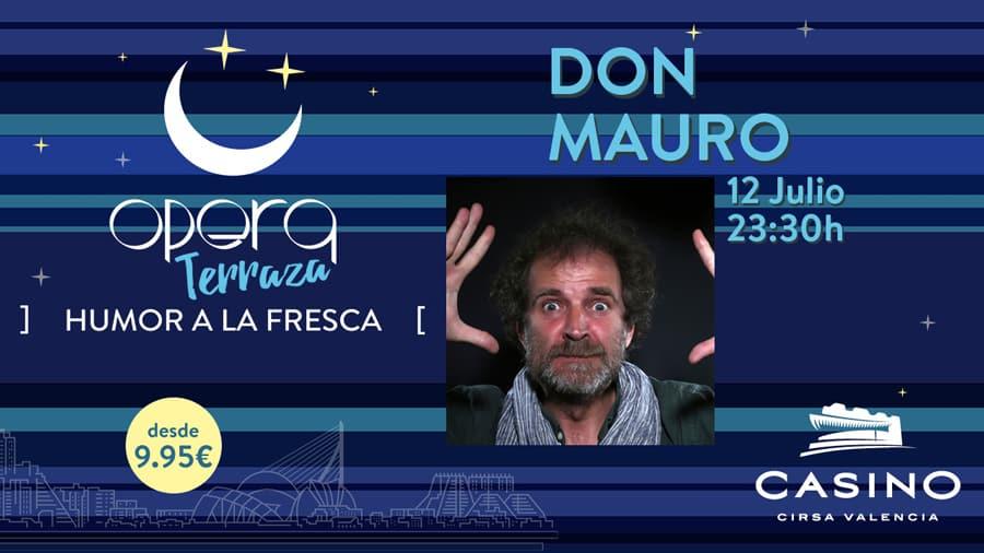 Don Mauro en el Casino Cirsa