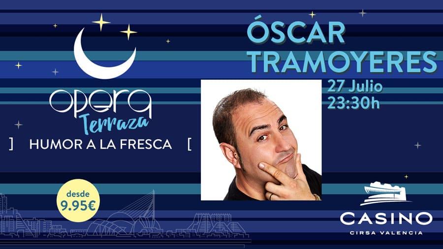 Óscar Tramoyeres en el Casino Cirsa