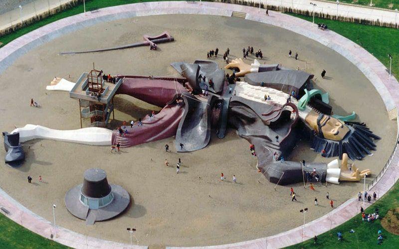 Parque de Gulliver en Valencia