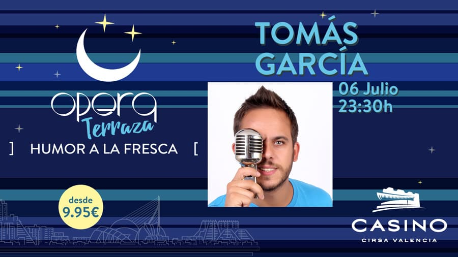 Tomás García en el Casino Cirsa