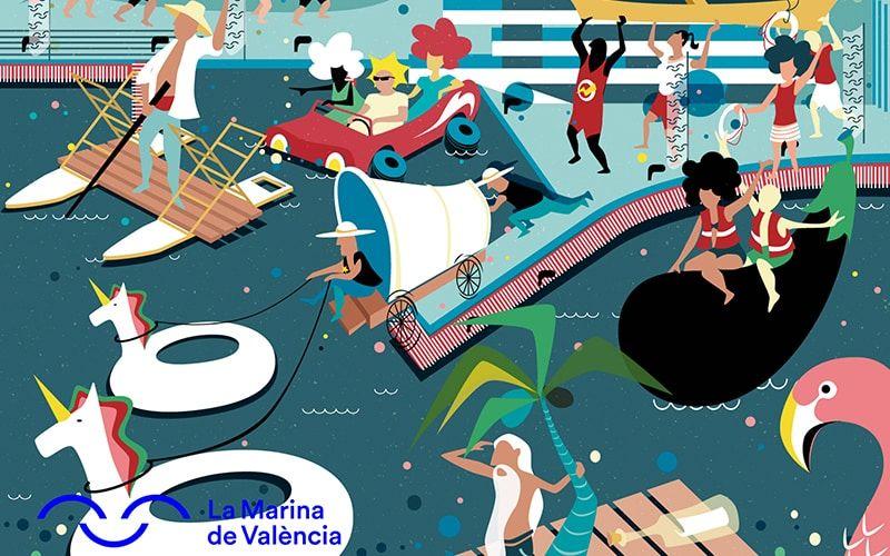 Barcos Locos La Marina Valencia