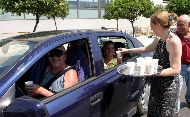 Horchata gratis en Alboraya