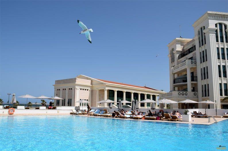 Piscina Hotel Las Arenas
