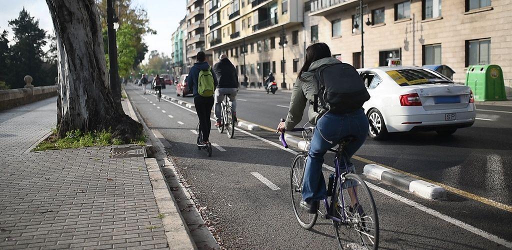 Carril bici en Valencia: mapa completo y normas de circulación   Cultura CV