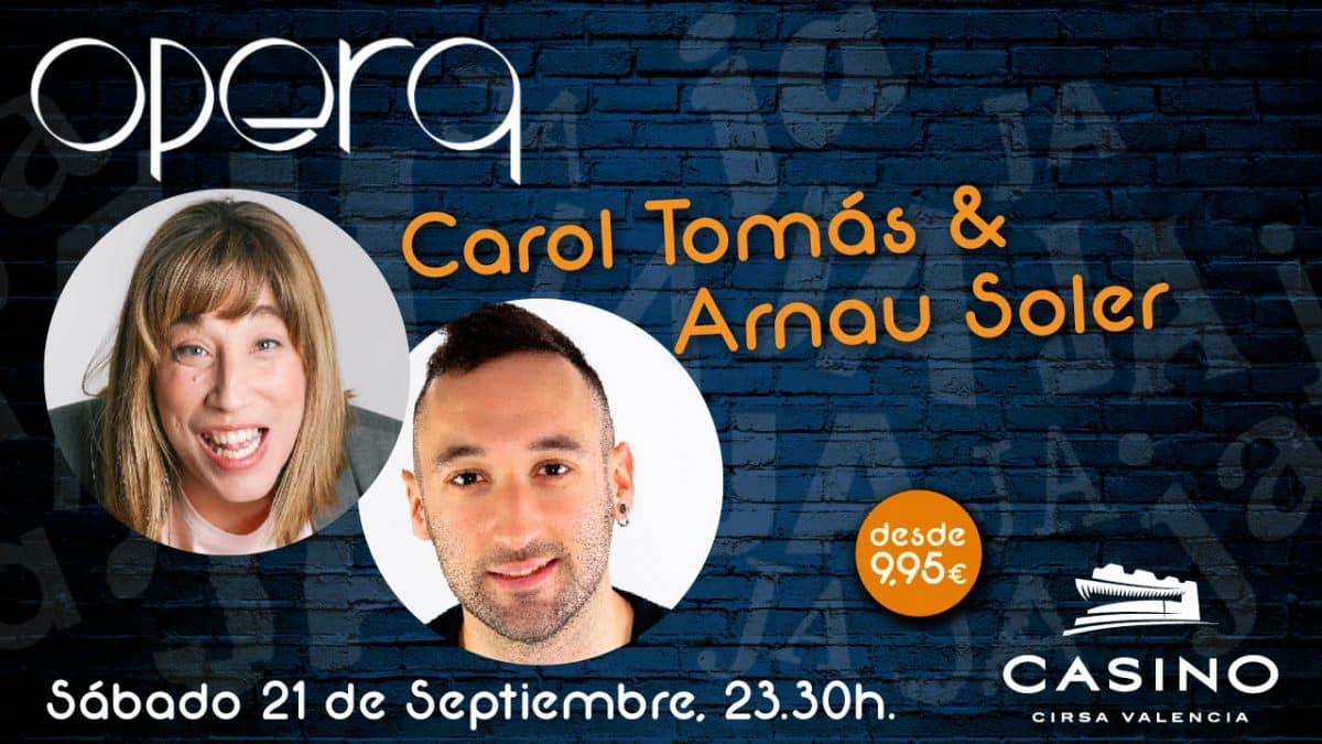 Arnau Soler y Carol Tomás