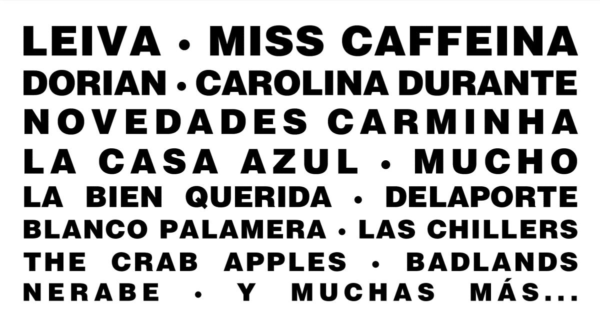 cartel del sansan festival 2020