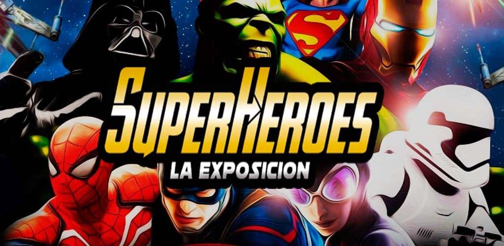 Exposición de superheroes en Valencia