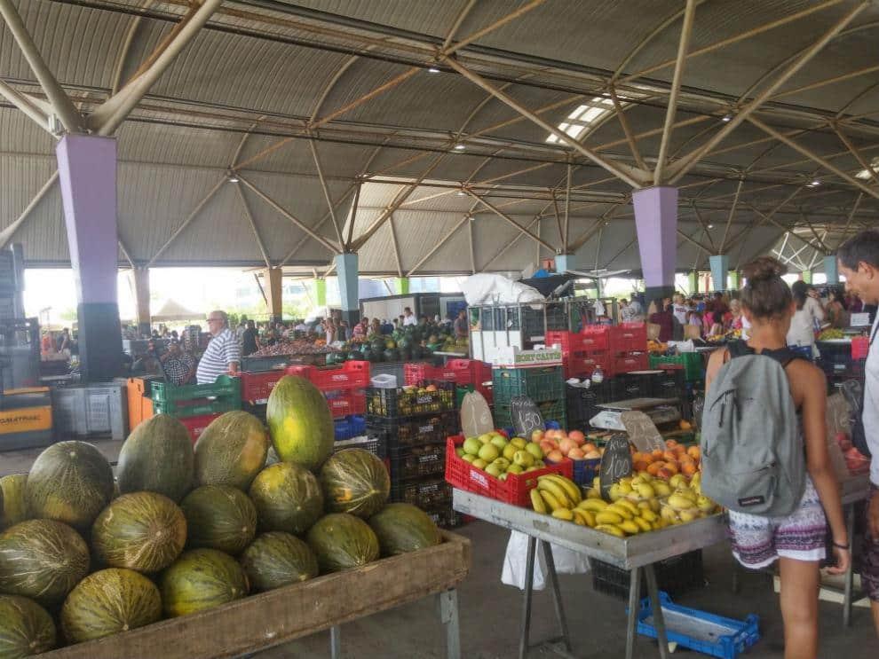 Mercado del lunes en Castellón