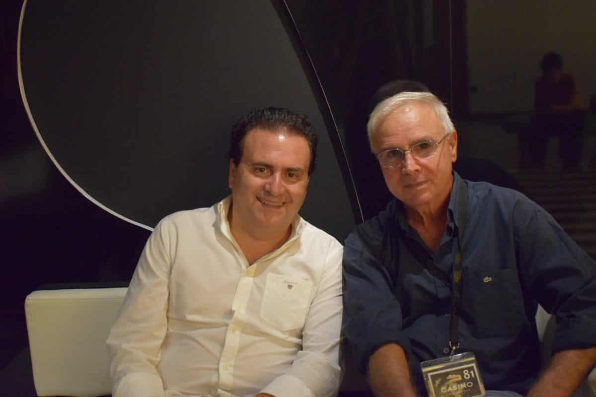Nacho Aguado y Juan Aragó