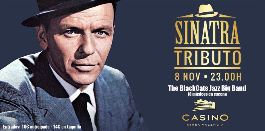 Frank Sinatra en el Casino Cirsa