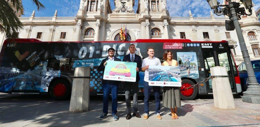 Autobus EMT Valencia gratis
