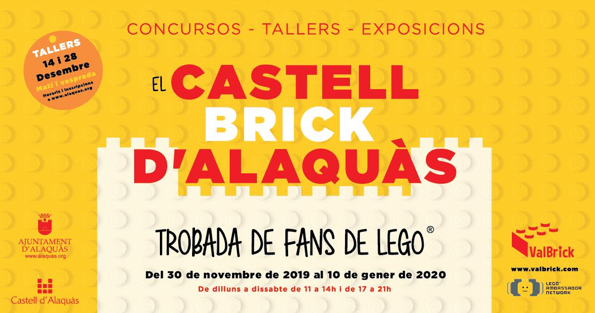 Exposición Lego Alaquàs