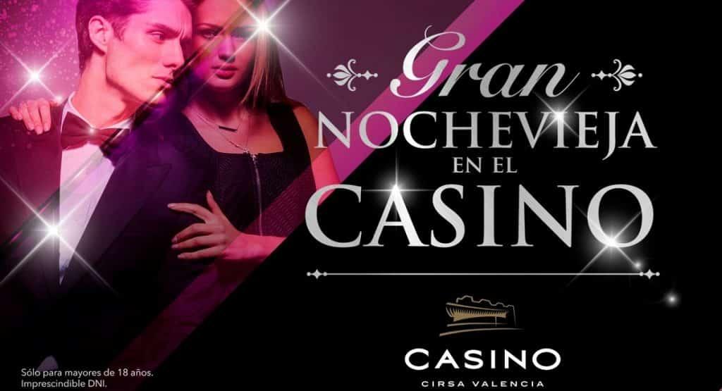Nochevieja en el Casino Cirsa