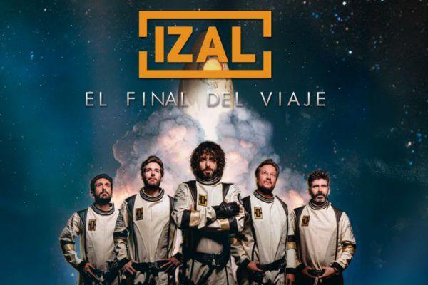 Concierto IZAL en Valencia abril 2020