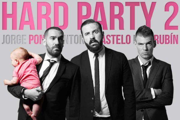 Hard Party 2 - Jorge Ponce Castelo Rubin Valencia