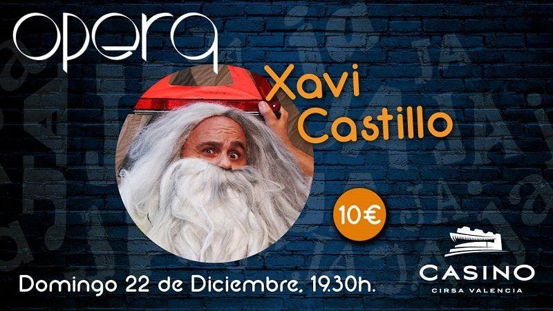 Xavi Castillo en el Casino Cirsa Valencia