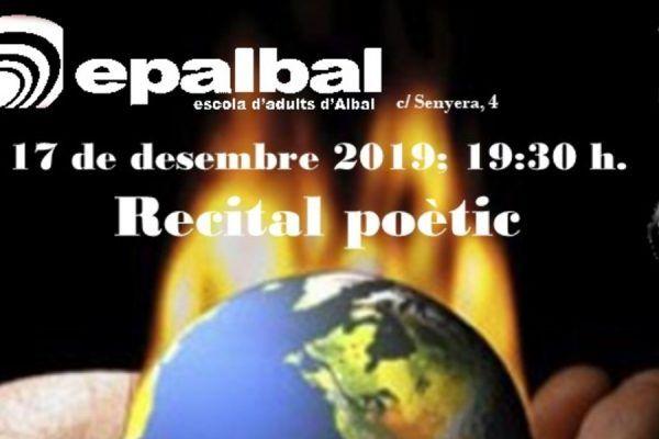 Recital de poesía en Albal