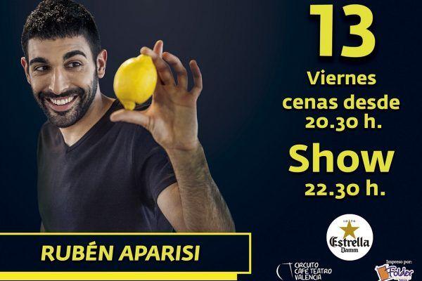 Rubén Aparisi en Bioparc Café