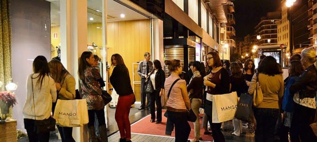 Valencia Shopening Night Christmas