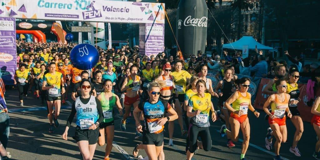 Carrera 10KFem València 2020