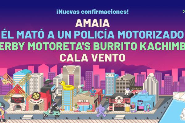 Amaia en el Low Festival 2020