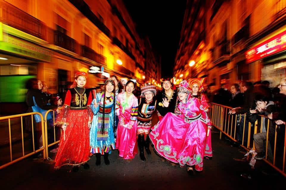 Cabalta del Año Nuevo chino en València 2020