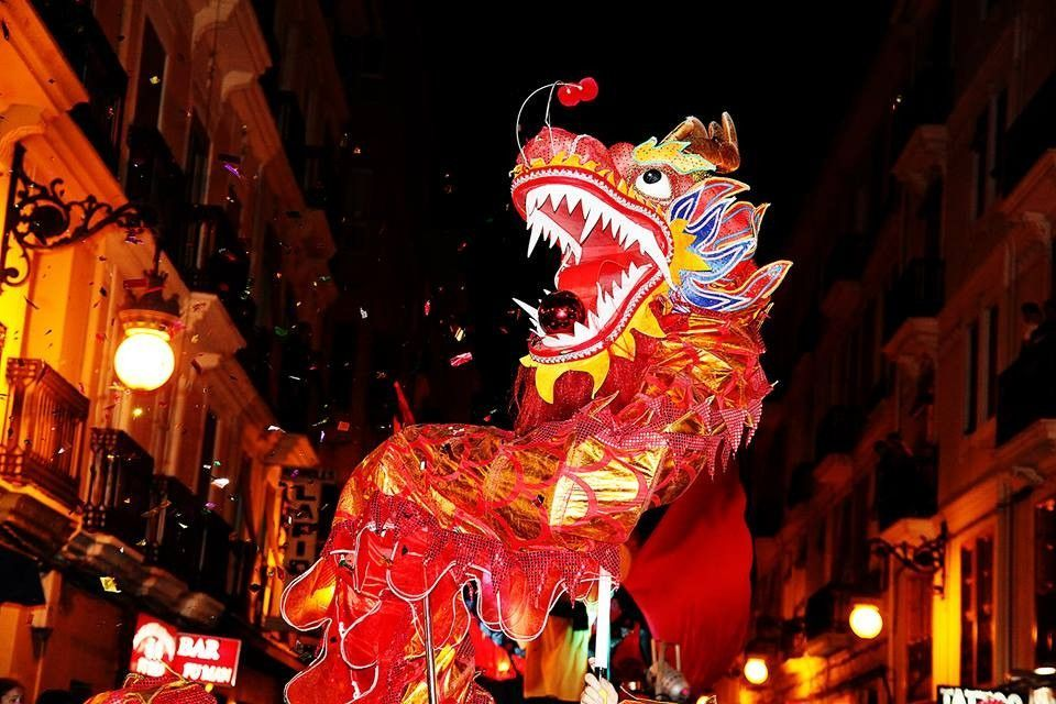 Cabalta del Año Nuevo chino en València