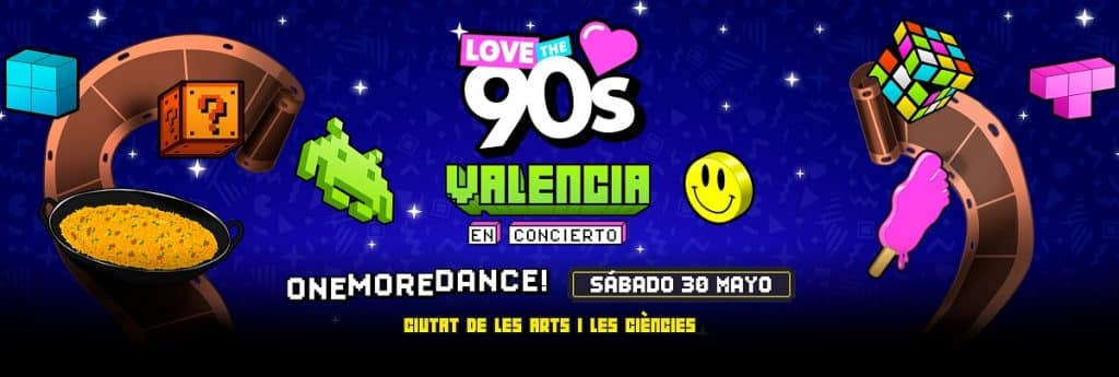 Love The 90s Valencia 2020