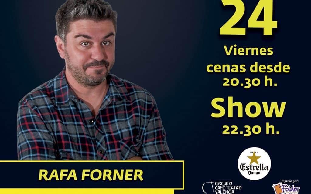 Rafa Forner en BIOPARC Café