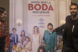Silvia Alonso y Álex García protagonistas de 'Hasta que la boda nos separe'.
