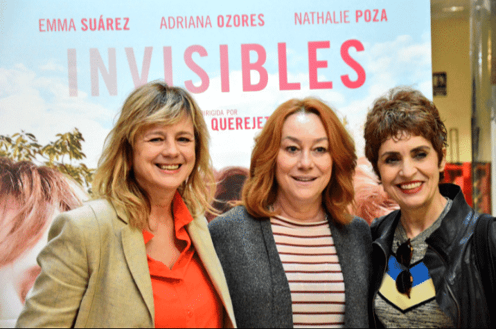 Emma Suárez, Gracia Querejeta y Adriana Ozores - Invisibles