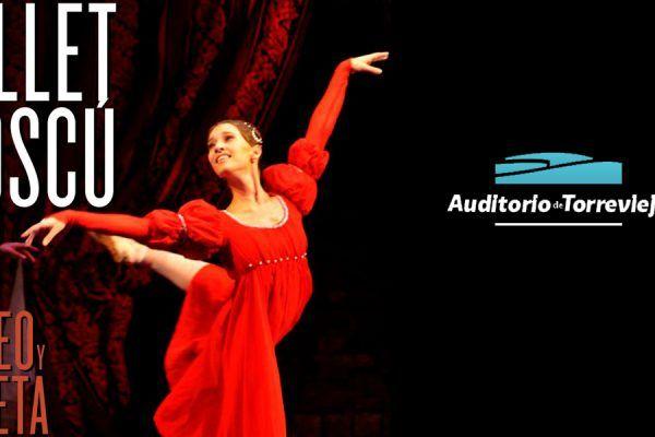 Ballet de Romeo y Julieta en el Auditorio Torrevieja