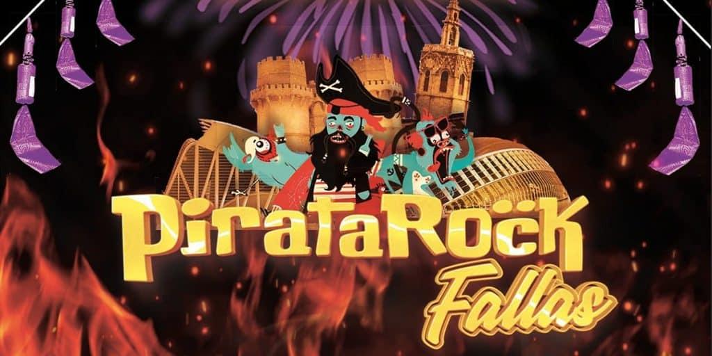 Pirata Rock Fallas València 2020