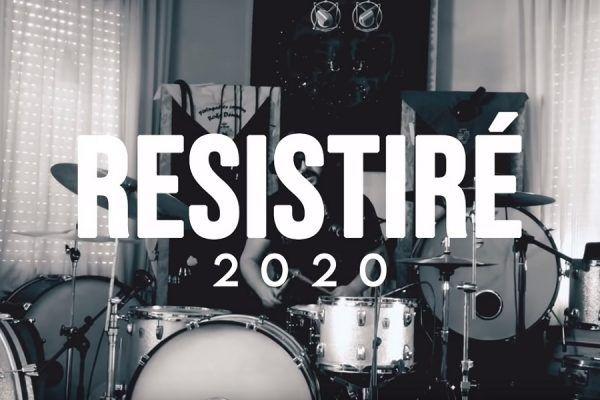 Resistiré 2020 contra el coronavirus