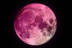 ver luna rosa desde España
