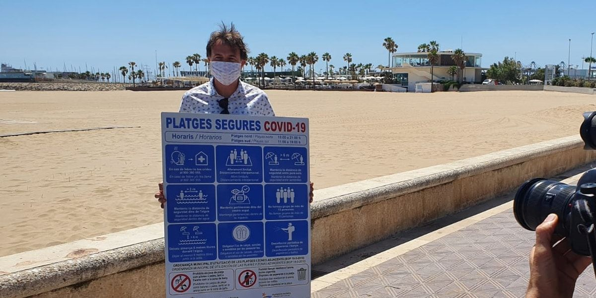 Playas de València normas