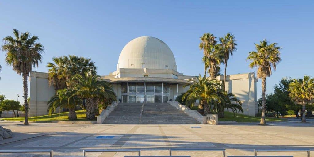 Planetari de Castelló en agosto
