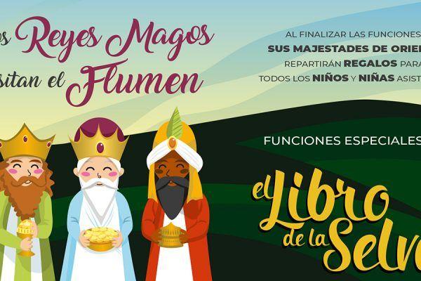 Los Reyes Magos en el Teatro Flumen de Valencia