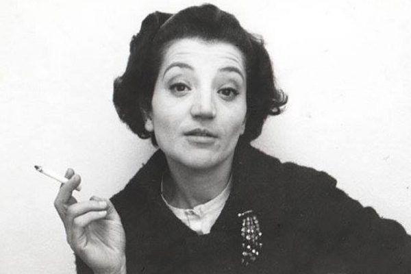 Cecilia Mangini en la Filmoteca de Valencia
