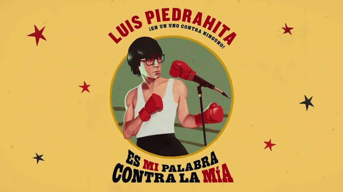 Luis Piedrahita en el Teatre Talia