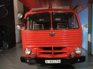 camioncito de bomberos