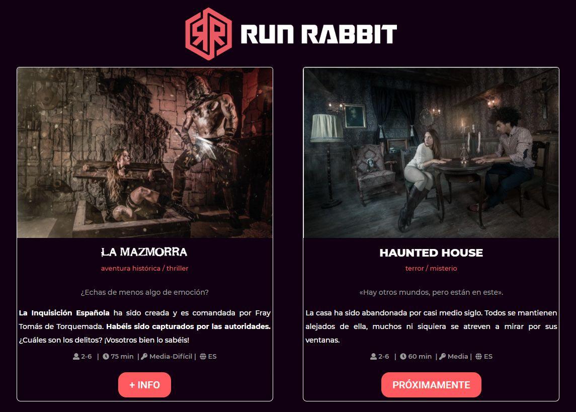 Run Rabbit escape room