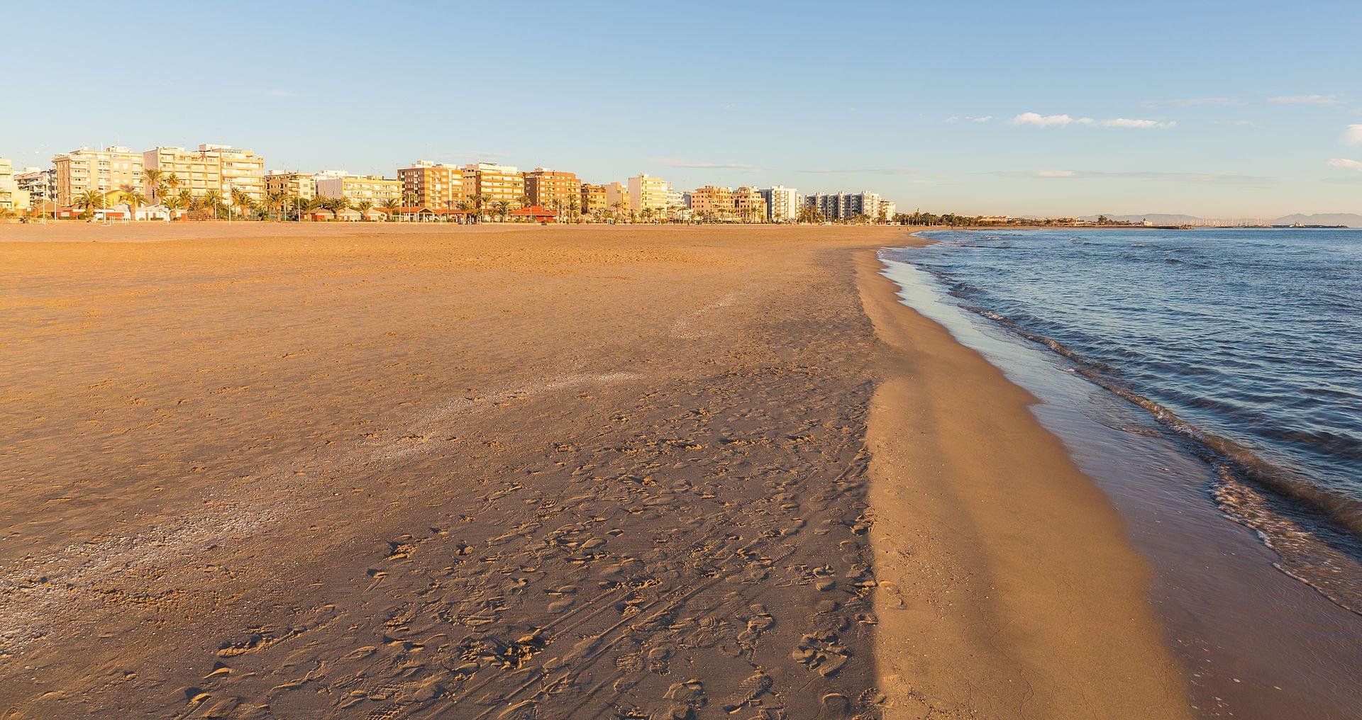 Playa del Puerto de Sagunto